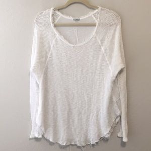 Ecote Urban Outfitters Thermal Long Sleeve Shirt